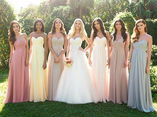 Какой цвет выбрать для свадьбы