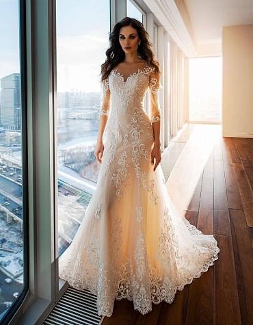 Свадебное платье «ЛАГЕРТА» фото
