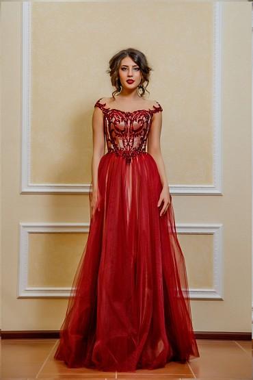 Вечернее платье «Земфира» фото
