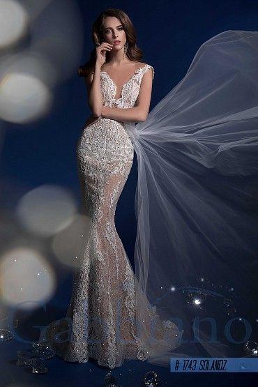 Свадебное платье «Соландж» фото