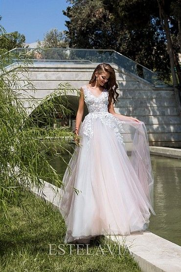 Свадебное платье «CHANDRA» фото