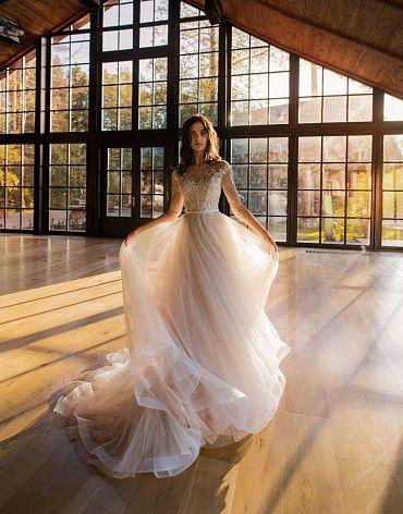 Свадебное платье «Эванс» фото