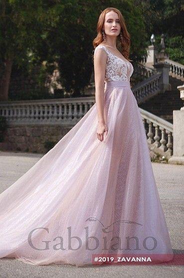 Свадебное платье «Заванна» фото