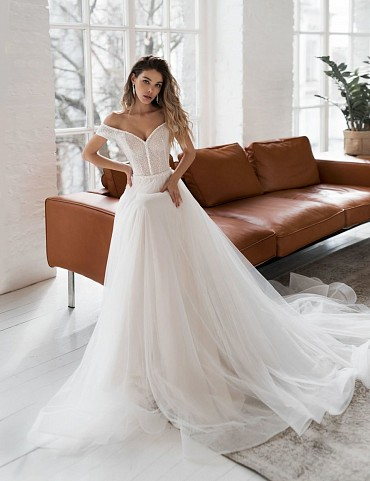 Свадебное платье «Солвейг» фото