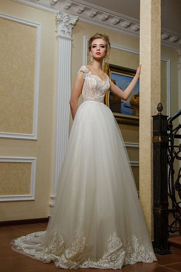 Свадебное платье «Мерайя» фото