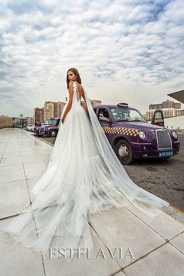 Свадебное платье «HANNA (с кейпом)» фото