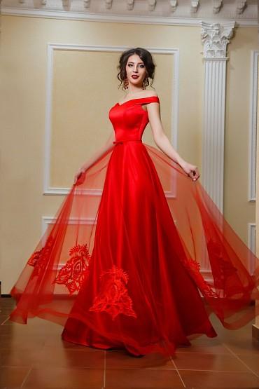 Вечернее платье «Криспи» фото