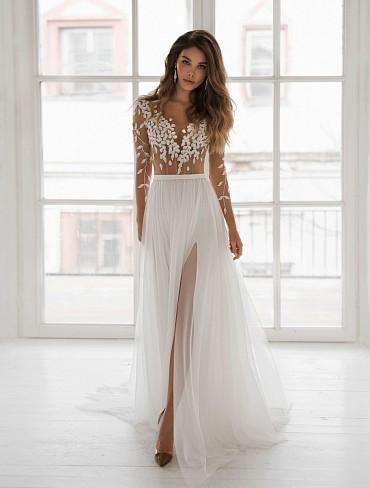 Свадебное платье «Вики» фото