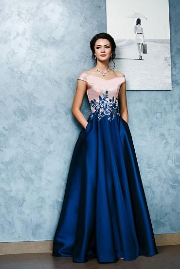 Вечернее платье «Флора» фото