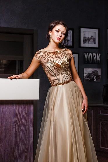 Вечернее платье «Тиана» фото