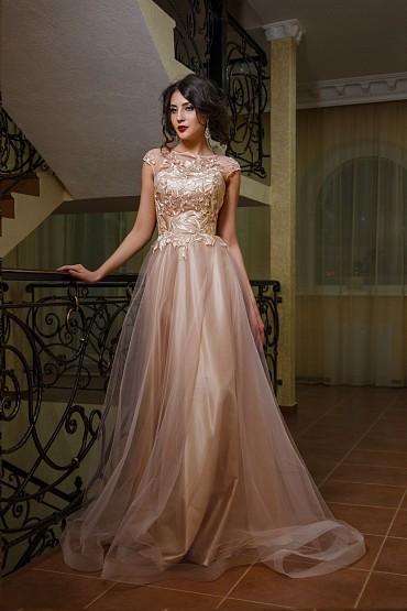 Вечернее платье «Ноктюрн» фото